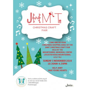Christmas craft fair will raise vital funds for local charity JHMT