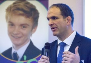 Martin Johnson launches Trust - ITV News