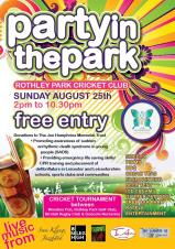 Support us at Rothley's Party In The Park
