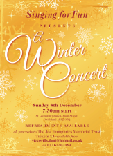 Singing for Fun Presents A Winter Concert