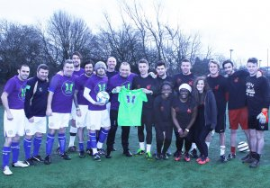De Montfort University Students take on JHMT in Memorable Football Tournament