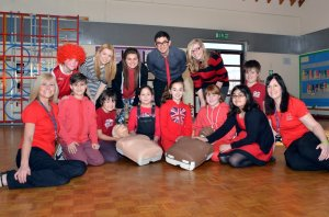 Heart Smart with Heart Start - Every Child who knows CPR can be a life saver