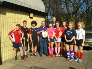 Hockey Youngsters on Guard to Tackle SADS