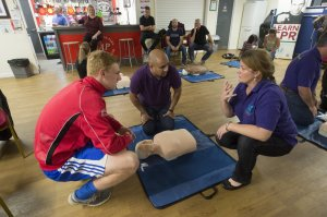 Charity gets city council support to help spread life-saving skills