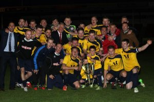 A Leicestershire Cup Winning football team with the heart to tackle SADS