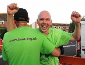 'Congratulations' to a great friend of JHMT and supporter Mike Sewell