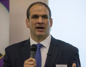 Rugby legend talks to GPs about sudden cardiac death in young people