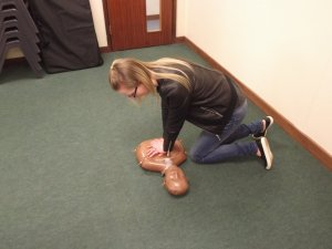 Health & Social Care Students from Groby CC Get 'Hands On' CPR Training
