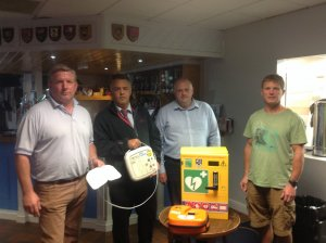 Leicester Forest Rugby Club Get 'Hands On' to Learn Lifesaving Skills