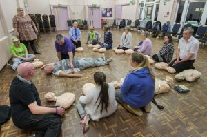 'Hands On' to Learn Key Lifesaving Skills in Thurnby, Leicester