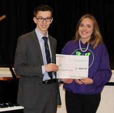 Generous Teenager Donates Prize Money to JHMT