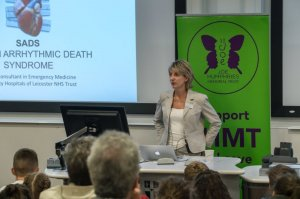 Medical Lead from Local Heart Charity Takes Part in Prestigious Conference