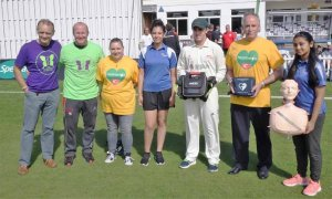 Leicestershire County Cricket Club are Proud to be Launching Heart Awareness in Cricket (HAC)