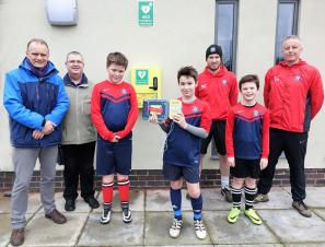 Quorn Juniors Football Club Get 'Hands On' to Learn CPR - Thanks to the Joe Humphries Memorial Trust