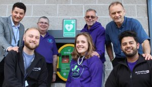 DSU unveil first public defibrillator at the heart of campus