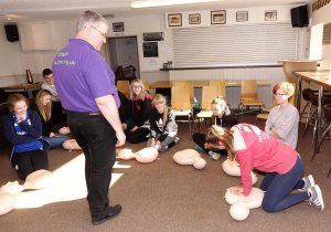 Teamwork Saves Lives: Sileby Town CC & JHMT combine for CPR and Defibrillator training
