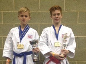 Budding Karate Champs Benefit from Inspire Awards
