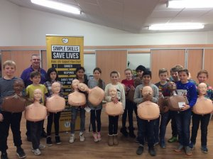 Rothley Primary School Children Learn CPR Skills with the Help of JHMT