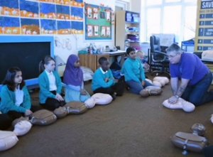 Leicester Primary School Trains Year 6's in Vital Life-Saving Skills