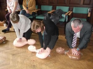 200 People Have Now Been Trained in Vital Life-Saving Skills
