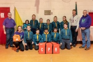 Joe's Trust JHMT Helps Local Scouts to Become Heartsafe