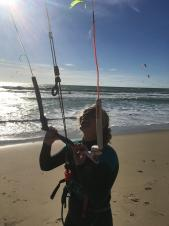 Aspiring Olympic kitesurfer among those to benefit from JHMT Inspire Awards