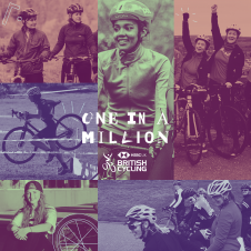 British Cycling's #OneInaMillion campaign