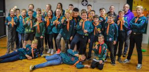 Scouts team up with JHMT to launch new heartsafe badge