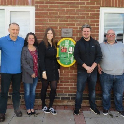 Joe's friend gets to work to make Broomleys cricket club heartsafe