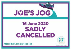 JOE'S JOG 2020 SADLY CANCELLED
