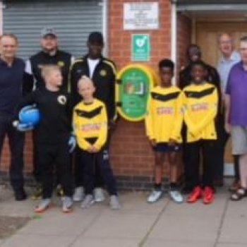 Highfield Rangers Joins Growing Number of Heartsafe Clubs