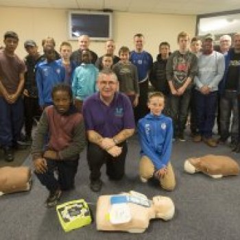 Festive Fun Marks Unveiling of Life-Saving New Defibrillator