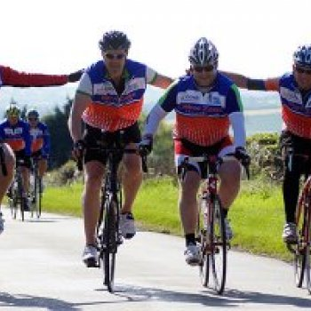Century Cycle Challenge Cyclists go the Distance to make a Difference