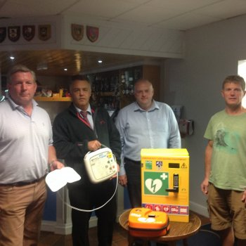 Leicester Forest Rugby Club Gets Hands On to Learn Lifesaving Skills
