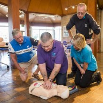 LCC Parks Staff Get CPR Training & Learn How to Use an AED with Support from JHMT
